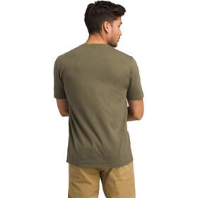 Prana Trail SS T-Shirt Herren cargo green